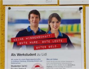Werkstudent Lidl
